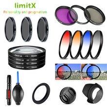 Filtro UV CPL ND FLD para cámara Digital Nikon CoolPix B700 P610 P600 P530 P520 P510