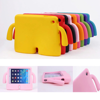 For IPad Mini Case Lovely Robot Kids Friendly Non Toxic EVA Foam Shockproof Stand Cover Cases