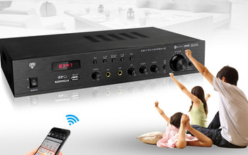 300W power tube A5 A1941 family KTV amplifier conference room Bluetooth karaoke audio amplifier