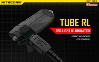 TUBE RL High Performance LED Flashlight Built In 3 7V Rechargeable Lithium Battery Red Light Output