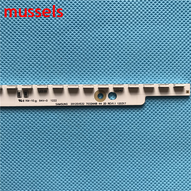"""Image 2 - LED Backlight strip For 32"""" TV 44lamp 2012svs32 7032nnb 2D V1GE 320SM0 R1 32NNB 7032LED MCPCB UA32ES5500 LE32OCSM C1 UE32ES5557K-in Industrial Computer & Accessories from Computer & Office"""