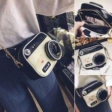 Newest Women Fashion Camera Shape Small Lady Girls Shoulder Bag Crossbody Handba