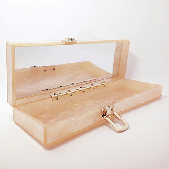 Gepäck & Taschen 2016 Neue Designer-kupplung Berühmte Marke Frauen Kupplung Umschlag Abend Perle Personalisierte Benutzerdefinierte Handmade Fashion Acryl Kupplung Abendtaschen