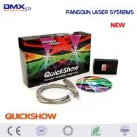 Envío gratis Original del producto más potente sistemas láser Pangolin quickshow usb software laser show designer