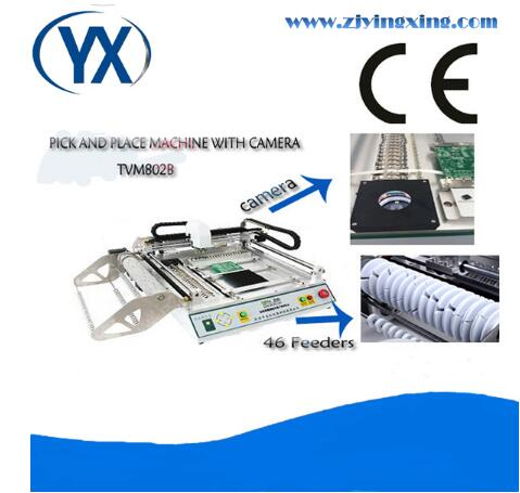Manual Pick and Place Machine Produced In Wenzhou SMT Pick Place Machine YINGXING TVM802B High Accurate SMT Production Line