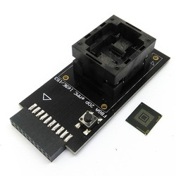 eMMC test Socket to 20pin universal port for nand flash testing for BGA 169 and BGA 153 reader for data recovery