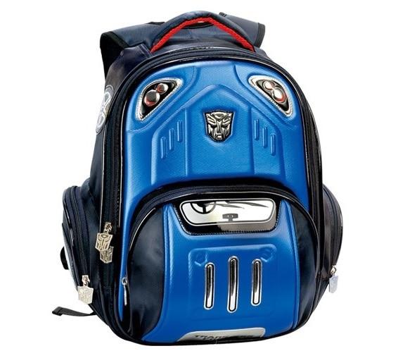 Children School Bags Kids Backpacks Transformers Bumblebee Stylish ...