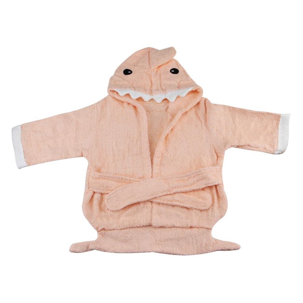 С длинными рукавами халат фланелевые пижамы хлопок животных для мальчиков и девочек Детские пижамы детская зимняя ночная рубашка CJ Прямая