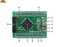 STM32 Board Core103V STM32F103VET6 STM32F103 ARM Cortex-M3 STM32 Development Core Board with Full IO Expanders