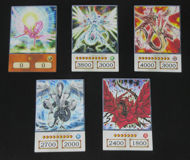 20pcs Yugioh 5D's Anime Style Orica Cards Stardust Dragon Trishula Odin 5ds Yusei 4Kids Classic Synchro Monster Dropshipping