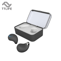 TTLIFE TWS Bluetooth Headset Genuine Wireless Mini Bluetooth Stereo Headset Left And Right Channel Playback With