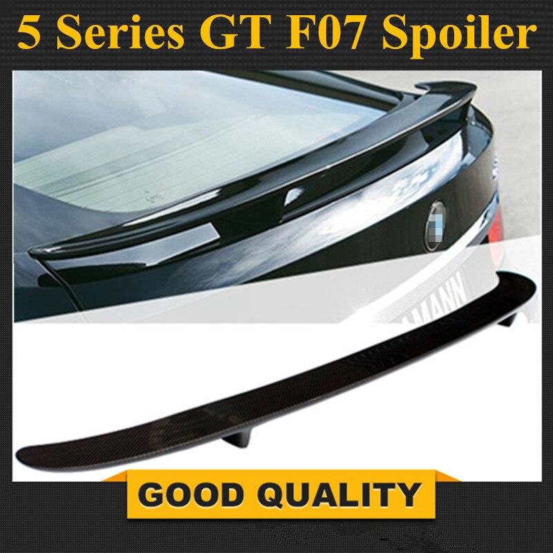 F07 углеродного волокна задний спойлер крыло для BMW 5 серии GT F07 Gran Turismo 2010 подарок
