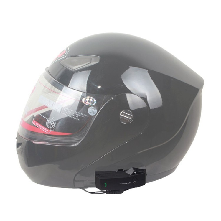 Bluetooth Motorcycle Helmet Intercom Support NFC BT Moto Interphone  Hand-free Headsets Intercomunicador with FM Radio for Skiing (23)