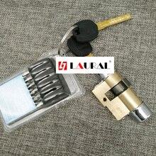 Применимый входной замок цилиндр типа 11 AB ключ безопасности Противоугонная медная сердцевина дверного замка с ключами
