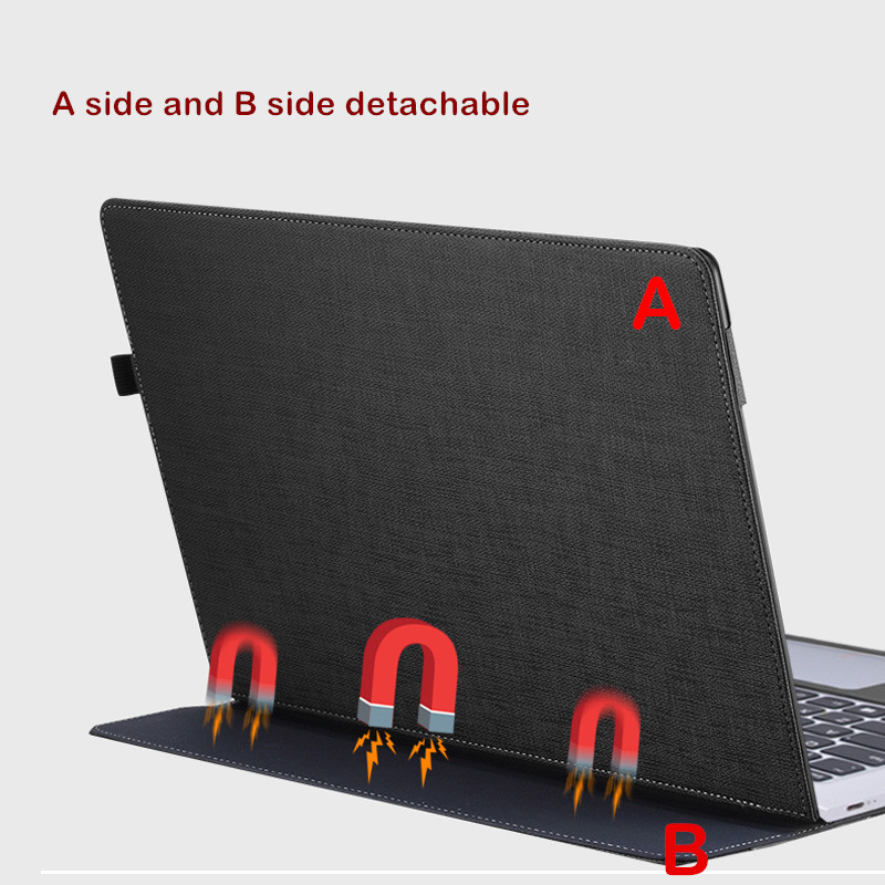Laptop Case for Lenovo YOGA 920 13.9 Inch Notebook Sleeve for YOGA 6 Pro PU Leather Protective Cover Stylus As Gift-in Tablets & e-Books Case from Computer & Office    2