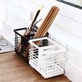 Кухонная стойка настенная сливная коробка палочки для еды клетка ложка нож и вилка полка для хранения Столовые приборы Инструмент для хран...