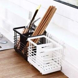 Półka kuchenna ścienne wiszące spustowy pudełko opakowanie na pałeczki łyżka nóż i widelec półka do przechowywania sztućce narzędzie do przechowywania przybory kuchenne