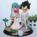 Аниме Dragon Ball Z trunks GK фигурка Вегета & Bulma свадебный день вер. ПВХ Фигурки игрушки