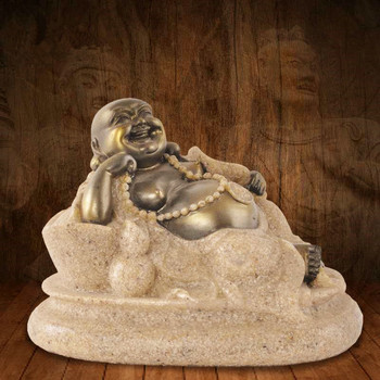 2018 New Time-limited Mrzoot China India For Buddha Statue Yoga House Maitreya Home Decoration Sandstone For Creative Crafts