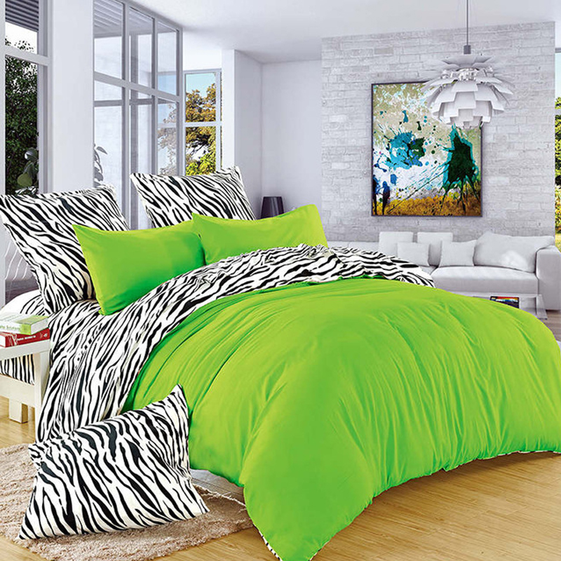BELLIHOME High-qaility Bedding Set For King Queen Size Bed Clothes Pure Color Luxury Soft Comfortable Printing Duvet Cover Sets