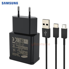 Samsung Original Fast Charger EU US Travel Adapter 9V/1.67A Quick Charge USB For Galaxy S6 S7 S8 Plus Edge Note 5 6 7 8