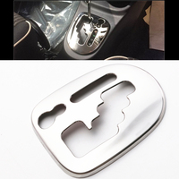 JY SUS304 Stainless Steel Shift Gear Panel Trim Car Styling Cover For Toyota VITZ YARIS 130S