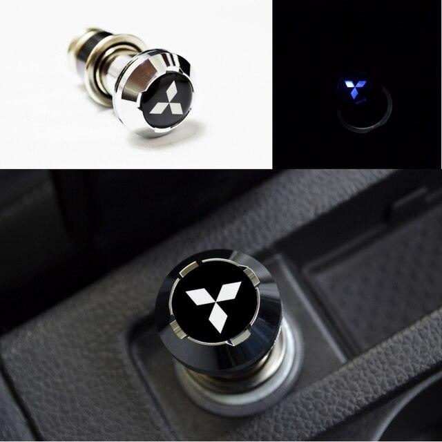 Blue Led Light Car Cigarette Lighter For Mitsubishi Ralliart Lancer
