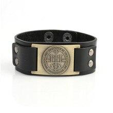 Модный браслет для женщин мужской викинг стиль Бог исцелил Архангела имя Рафаэль написанный и специальный Тотем дропшиппинг