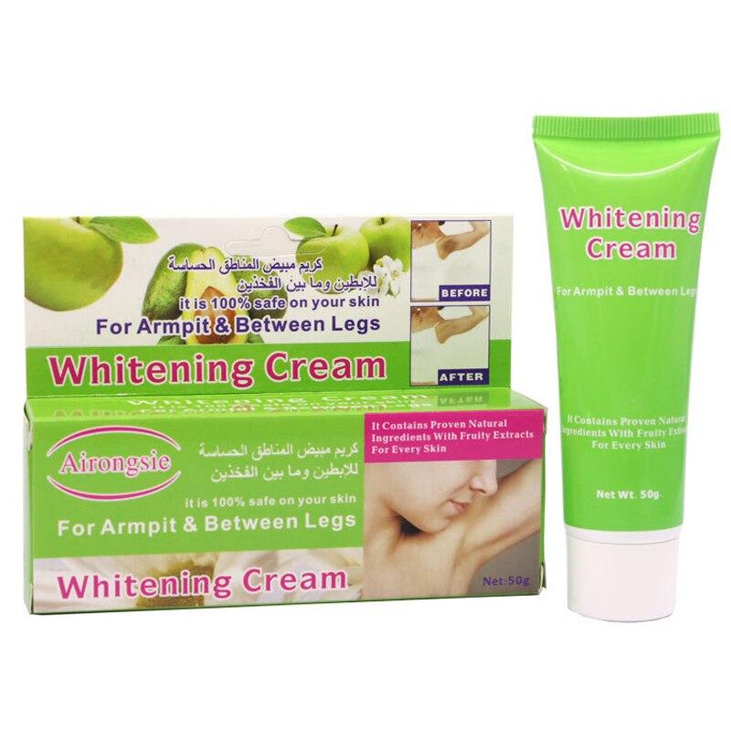 Sporting Armpit Underarm Whitening Cream 50g Thigh Body Repair Cream Dark Skin Legs Knees Lightening Whitener Intimate Black Removal Cheap Sales Beauty & Health