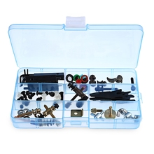 Tattoo Accessories Tattoo Supplies Parts Kit Grommet Nipple For Machine Gun Repair Maintenance Supply With Big Box For Begginner