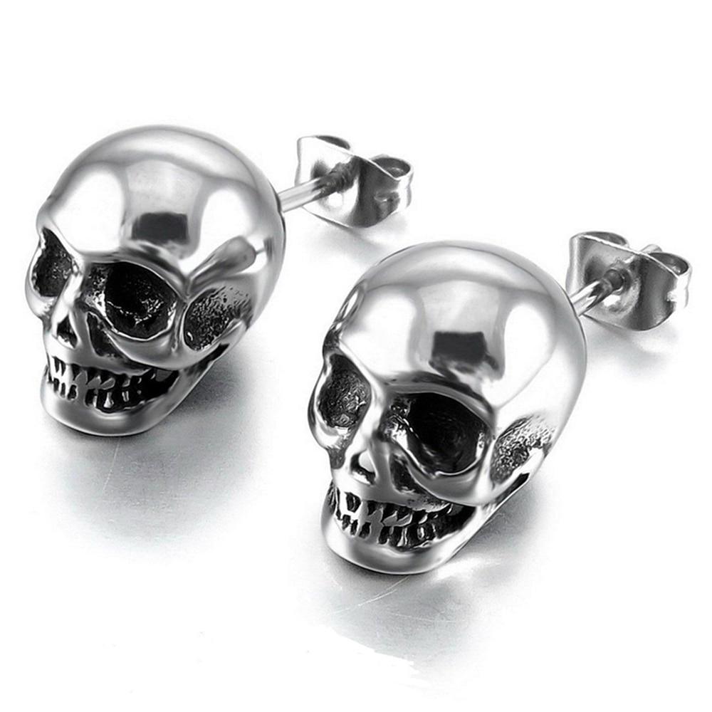 Punk Skull Earrings
