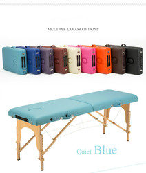27 Section185CM 70CM Lightweight Portable Massage Table Couch Bed Plinth Therapy Tatoo Salon Reiki Healing Swedish Massage 15KG