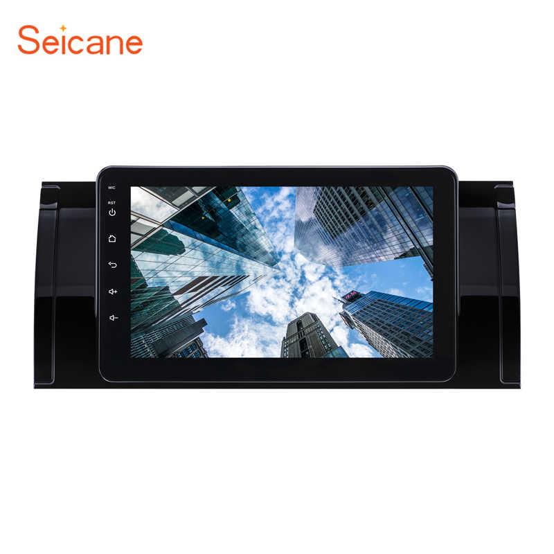 Seicane 8-core Android 8.1 8 cal radio samochodowe z GPS-em odtwarzacz dla BMW X5 E53 2000 2001 2007 wsparcie rejestrator DVR lustro link Carplay TPMS OBD