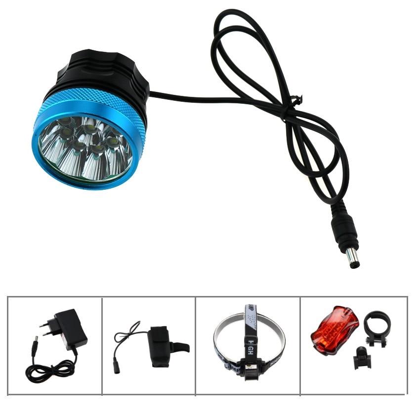 Charger 2PC Battery 5 Modes 2000 L Cree XML T6 U2 LED Flashlight Torch Lamp
