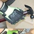 NMSafety 1 Упак. Зеленые Перчатки Рабочие Безопасности Амортизирующие Рабочие Перчатки