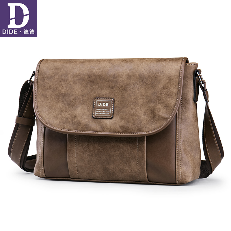 23b6bec285 DIDE Business travel work Male bag ipad messenger bag Men Leather handbags  Large Capacity desigual Shoulder bag-in Crossbody Bags from Luggage   Bags  on ...