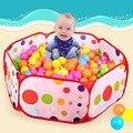 50 unids bolas Al Aire Libre/de Interior Bebé Corrales Para niños Plegable Niños Océano Piscina de Bolas Pozo de Actividad y Juguete del engranaje de Esgrima 1 M 1.2 M 1.5 M