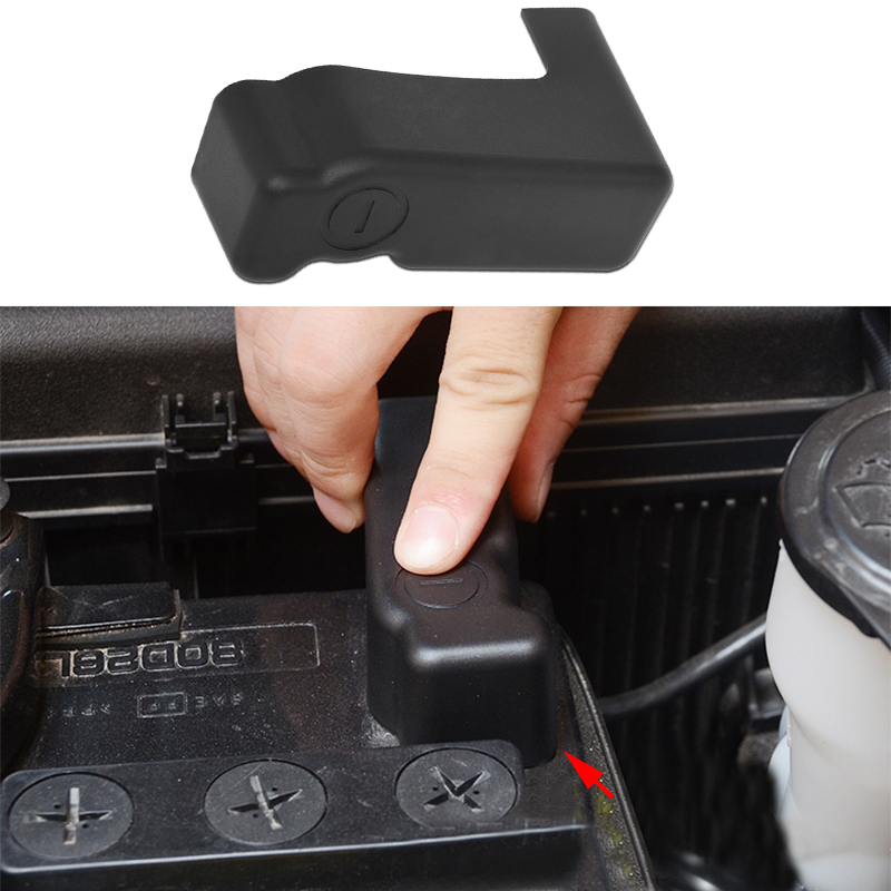Car Battery Negative Abs Dust Proof Cover Fit Toyota