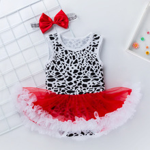 New baby sleeveless dress crawling fashion gauze princess new born clothes