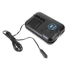 Portable 12V Car Air Compressor Digital Display Auto Car Tire Inflator Electric Pump LED Light Digital Inflatable Pump Promotion