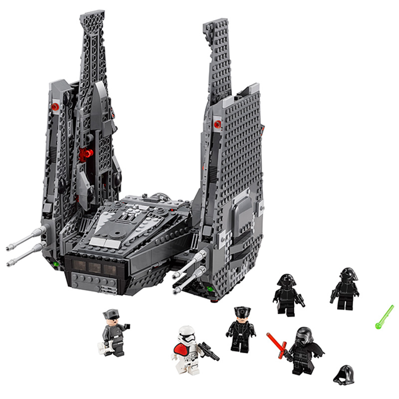 LEPIN 05006 Star Wars Starwars Mini Figure Kylo Ren Command Shuttle Building Blocks Bricks Toys Compatible