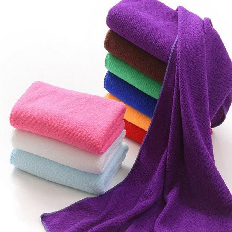 30x70cm Microfiber Quick Dry Towel Bath Shower Face Towel Fiber Soft Super Absorbent font b Baby