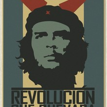 Retro Che Guevara carteles kraft póster de papel para pared habitación grande fotografía imprime Cuba soldados revolución