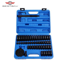 52 Pcs Mounting Pad Set untuk Bantalan Deluxe Bush Bushing Bearing Seal Driver Disc Alat(China)