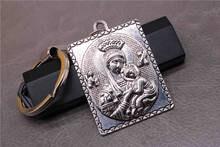 Jesus Cristo Clássico Encanto De Prata Medalha de Santa Ana Tem Chaveiro,  Titular Chaveiro Medalha fb8f2c734d