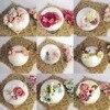 Newborn Photography Props Kids Flowers Hairbands