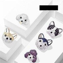 PARIS FRENCH BULLDOG Siberian Husky Poodle Akita dog Bichon Fris dog Canine animal STUDS EARRINGS jewelry w/ Gift Box