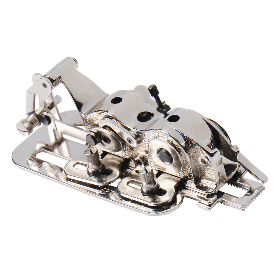 Drop Shipping Taiwan Industrial Sewing Machine Parts Flat Wagon Adjustable Lock Hole Opener IBA 10(4455) Buttonholer Attachment