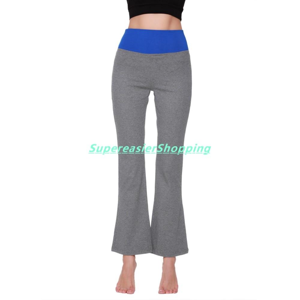 fd4309e6d9 Osne4u Sexy Women's Sport Yoga Bell Bottom Pants Full Length High Elastic  Waist Fitness Gym Running Workout Flare Pants Tights on Aliexpress.com |  Alibaba ...