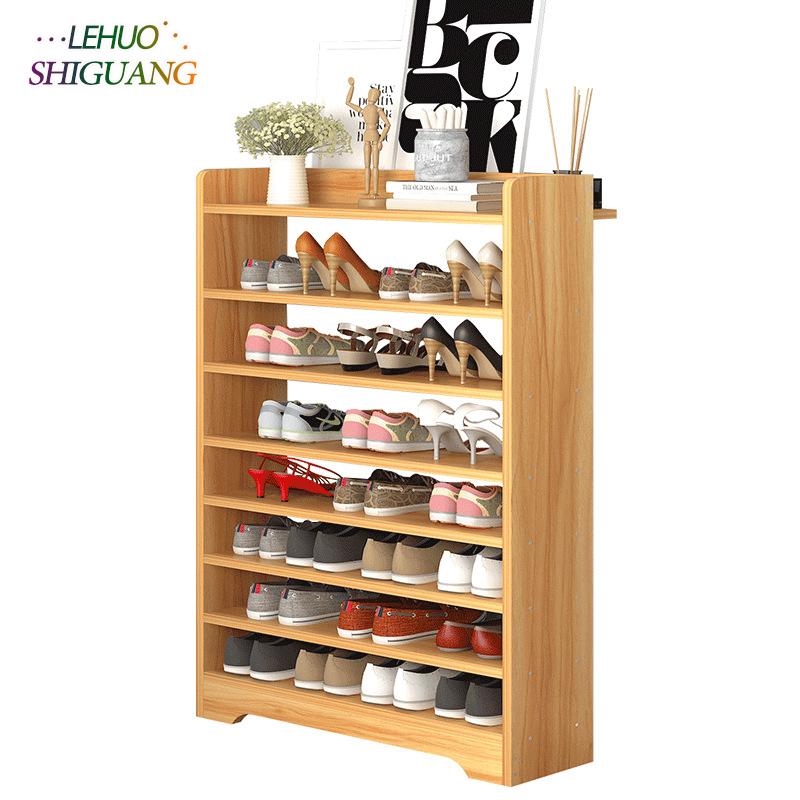 Fashion Shoe rack Environmental Multi-layer Shoe cabinet Modern Minimalist shoe organizer Shelf Healthy living room furniture 12 grid diy assemble folding cloth non woven shoe cabinet furniture storage home shelf for living room doorway shoe rack
